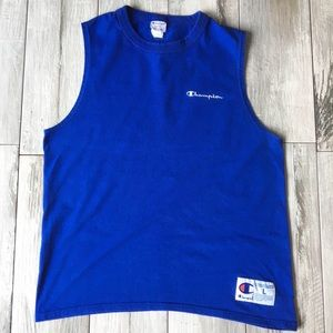 Champion Spell-Out Athletic Label Tank Top